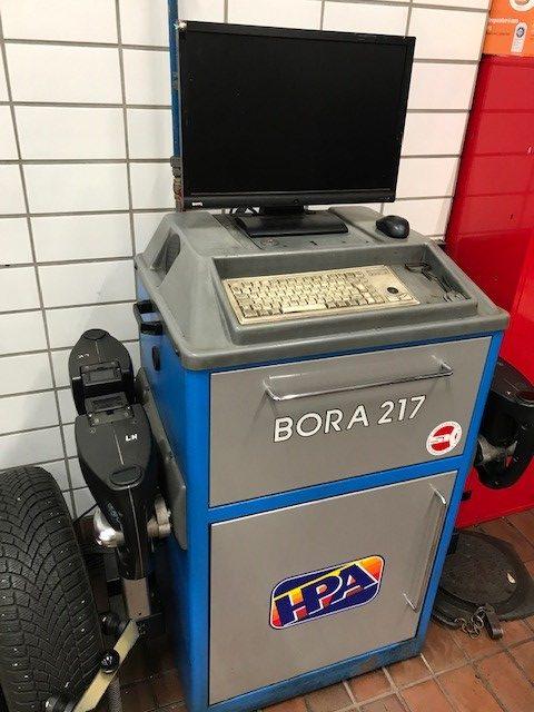 Achsmessgerät HPA Bora 217S
