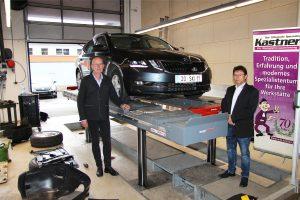 AutoService_10.20_95 Prozent der Werkstättenausrüstung kommen von Kastner